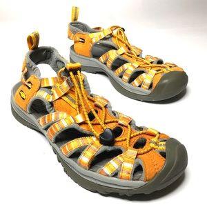 Keen Sz 8 Whisper Waterproof Fisherman Sandals